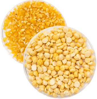 業務用蒸し挽き割り豆