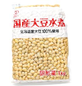 業務用国産大豆水煮1kg